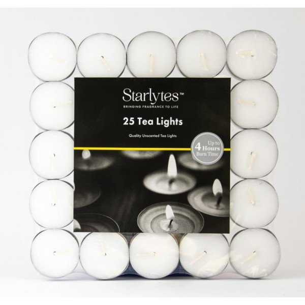 Starlytes 25pk Tealights - Unscented
