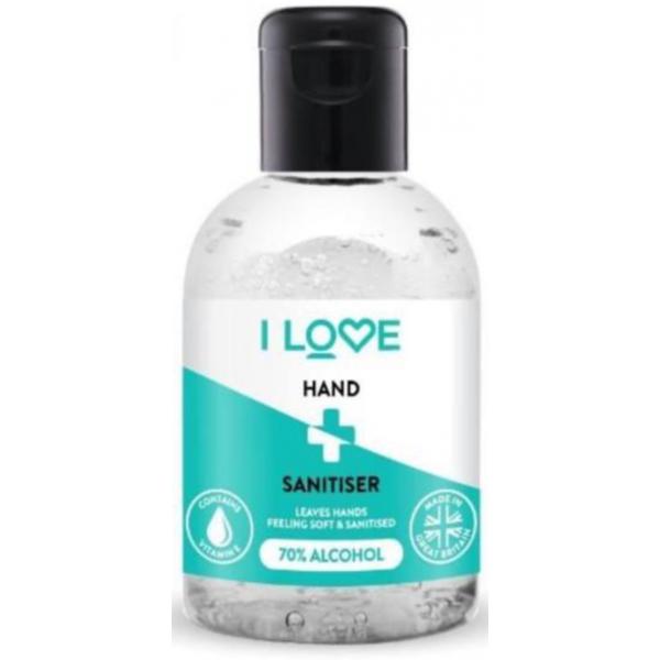 I Love 100ml Hand Sanitiser