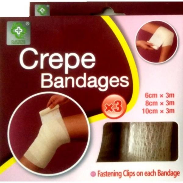Crepe Bandages 3's