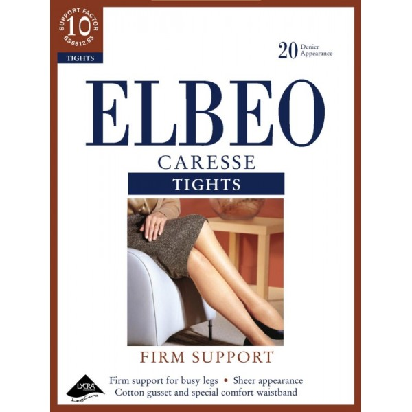 Elbeo Firm Support - Caresse Tights - Cafe Creme - Large