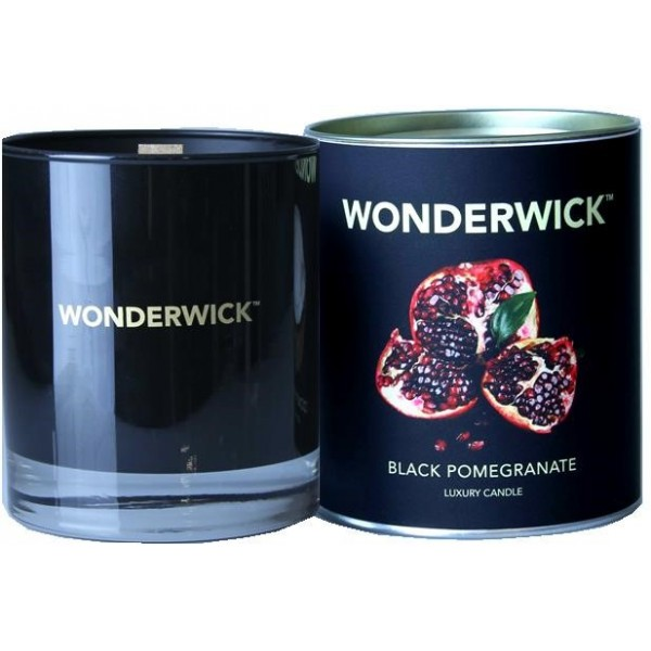 Wonderwick Noir - Black Pomegranate Candle