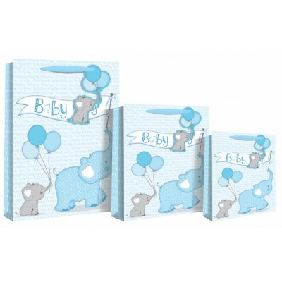 Gift bags greeting cards kemneeds chemists suppliers and baby boy elephant large gift bag m4hsunfo