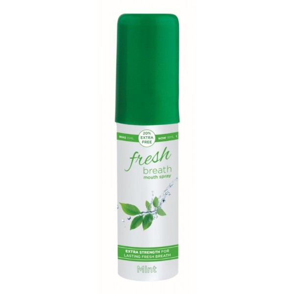 Fresh Breath Mouth Spray 18ml Peppermint