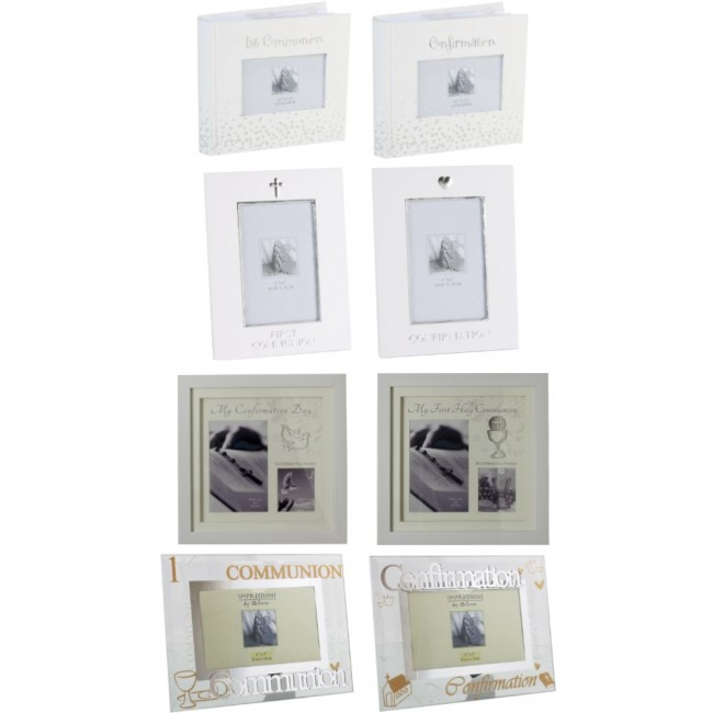 Monthly Special ! Buy 12 Confirmation/Communion Frames, Get 2 Albums ...