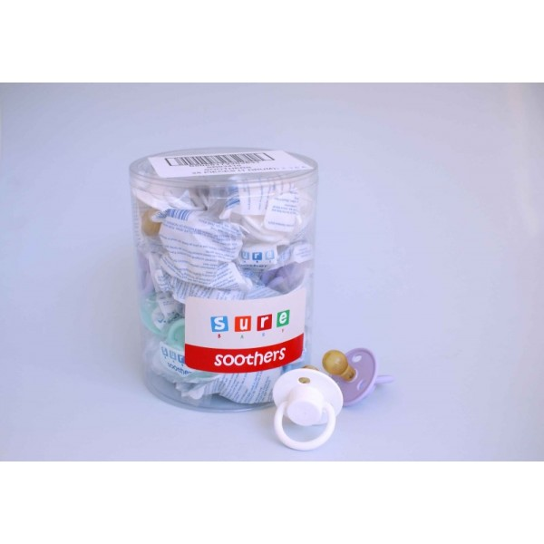 Soothers Latex X 25 Pcs